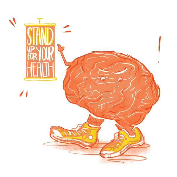 Stand Up For Your Brain